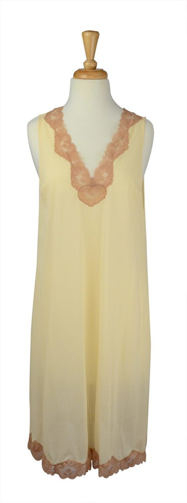 Vintage Emilio Pucci Cream Slip Dress