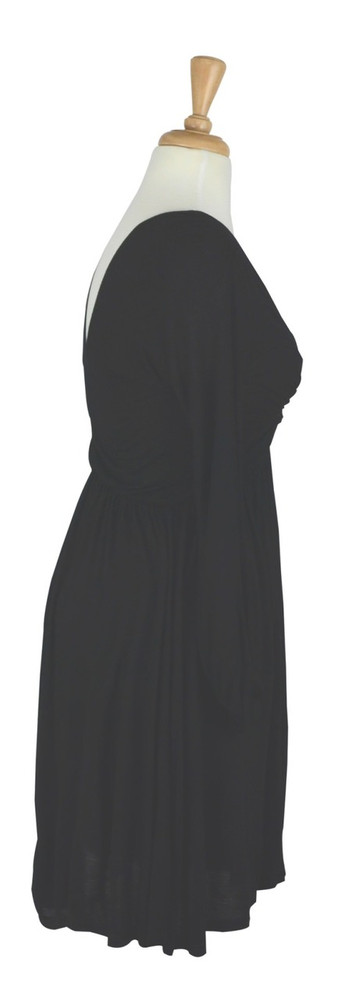 Mason Black Knot Jersey Dress