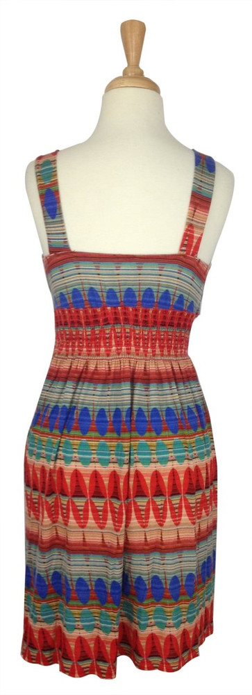 Needle & Thread Bright Abstract Jersey Dress