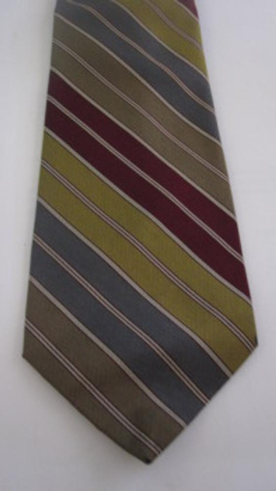 Lanvin retro stripe tie