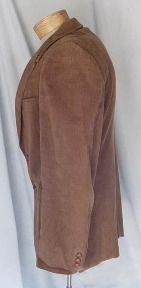 Men's Brown Corduroy Blazer