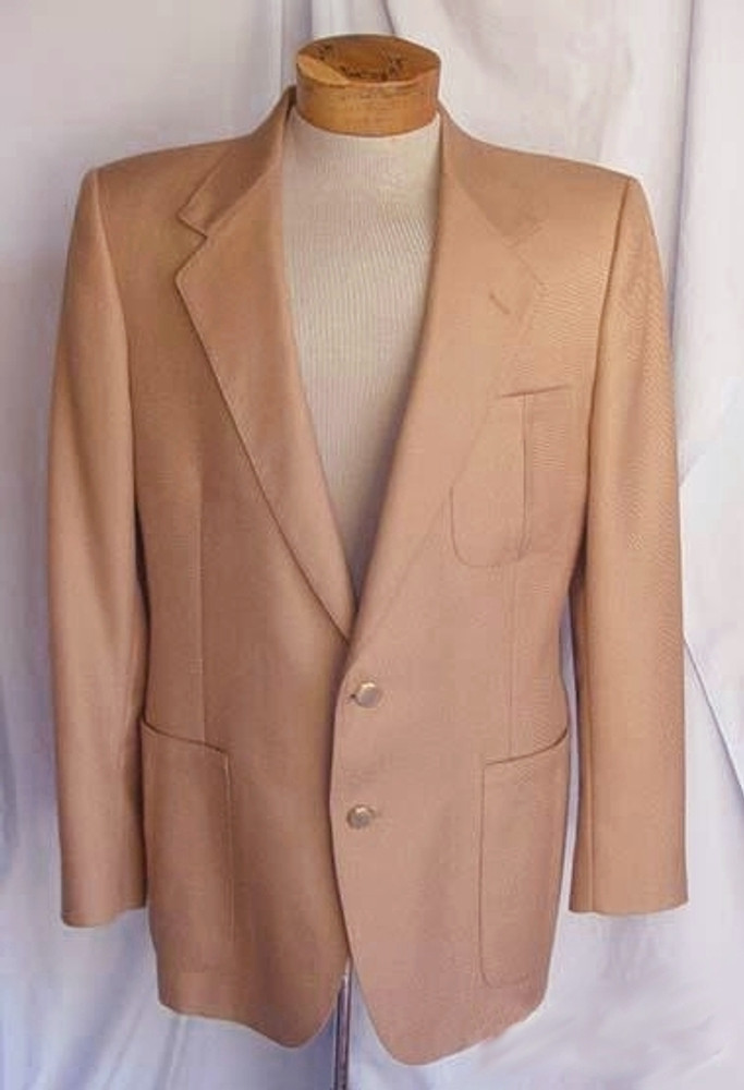 Mens Tan Lanvin Jacket