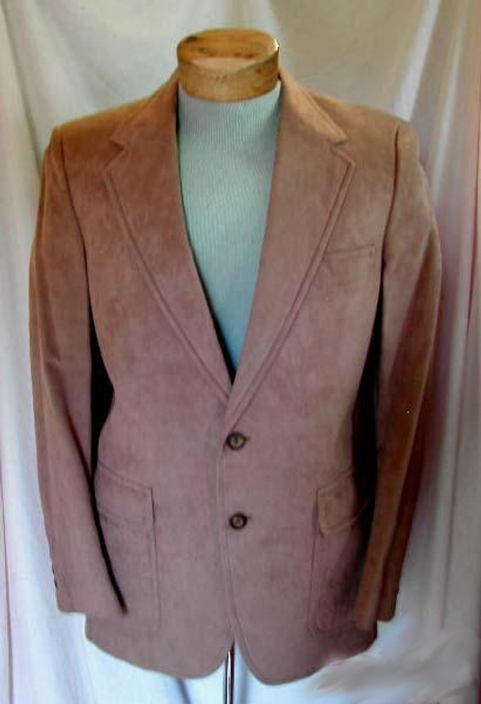 Tan Ultra-Suede Jacket