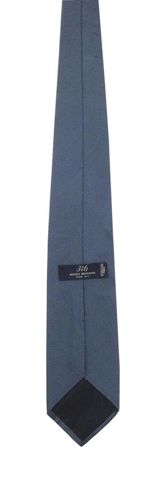 Brooks Brothers Textured Blue Tie