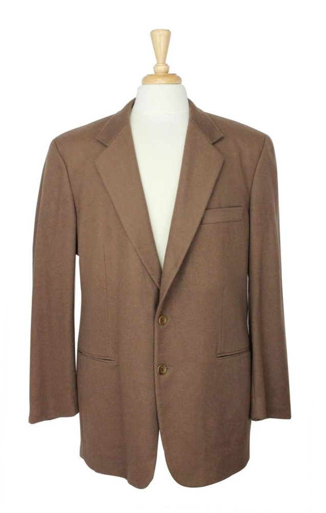 Vintage Burkhardt's Cincinnati Camel Hair Jacket