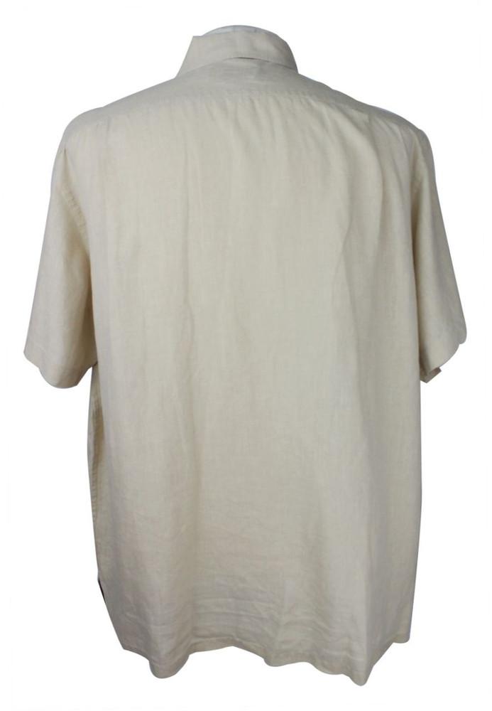 Ralph Lauren Purple Label Beige Linen Shirt