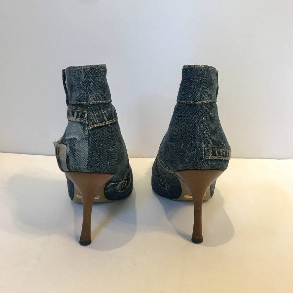 "Dolce & Gabbana ""Jeans"" Denim Booties"