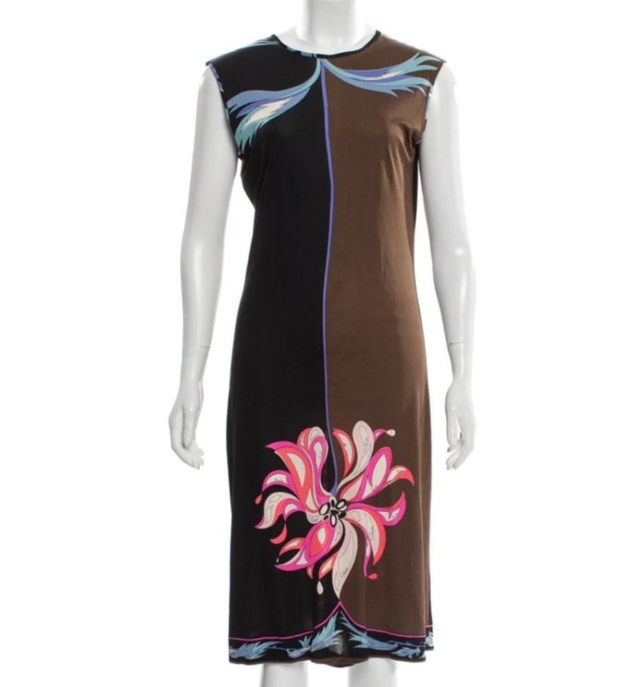 Emilio Pucci  Flower Jersey Dress