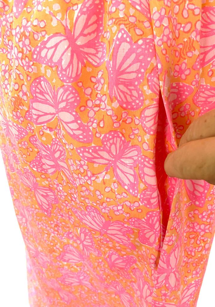 Vintage Lilly Pulitzer Pink & Orange Dress