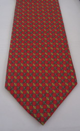 Brooks Brothers Red, Green & Yellow Link Tie