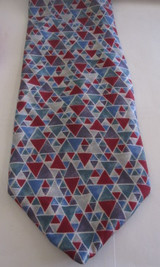 Christian Dior triangle tie
