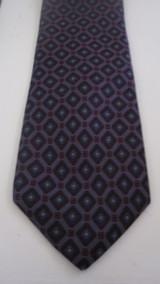 Gianni Versace Purple, Blue & Red Diamond Tie