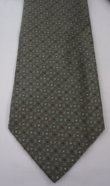 Hugo Boss gray textured tie