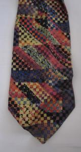 Mondo di Marco 1980s graphic print tie