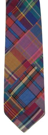 Robert Talbott Cotton Madras Plaid Tie