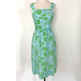 Vintage Lilly Pulitzer Gingham Dress