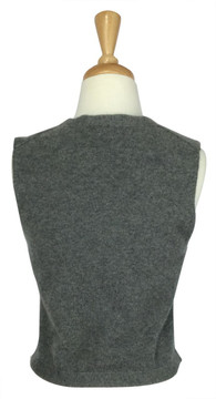 Theory Gray Cashmere Knit Vest