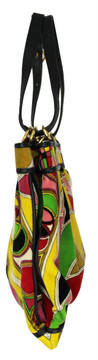 Vintage Emilio Pucci 1960s Velvet Multi-Colored Purse