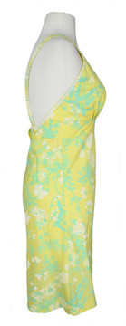 Vintage Lilly Pulitzer 1960s Yellow Sundress with Butterfly Applique