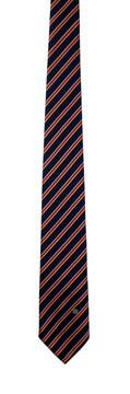 Bill Blass navy & red classic stripe tie