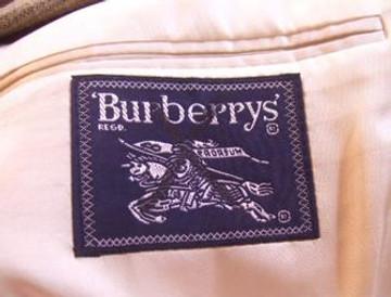 Burberry Beige Silk Plaid Jacket
