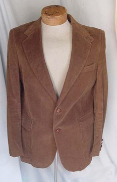 Men's Brown Corduroy Blazer
