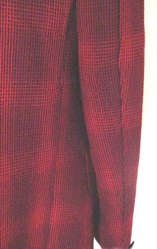 Men's Red & Black Retro Jacket