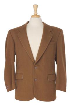Brown Cashmere Blazer