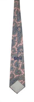 Oscar de la Renta Couture pink paisley tie