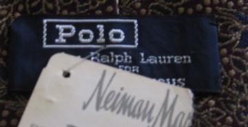 Polo Ralph Lauren Burgundy & Blue Tie