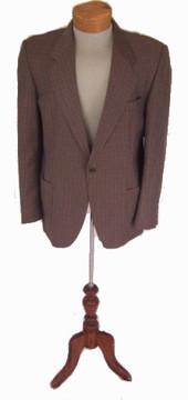 Westbury Brown Checkered Blazer