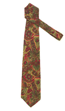 Cellini Silk Large Paisley Silk Tie