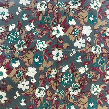 Gucci Small Floral Silk Scarf