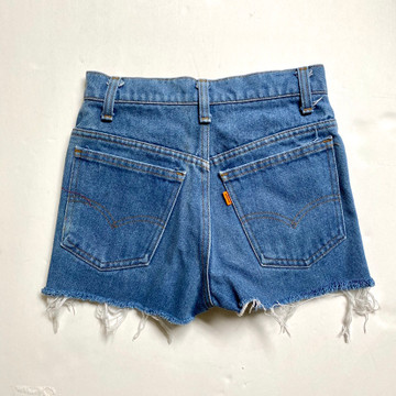 Vintage 1970s Levis Cut Off Jean Shorts