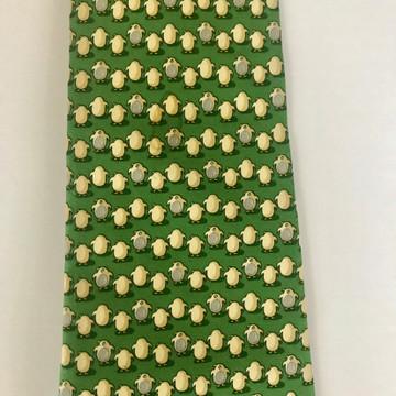 Ferragamo  Green Penguin Tie