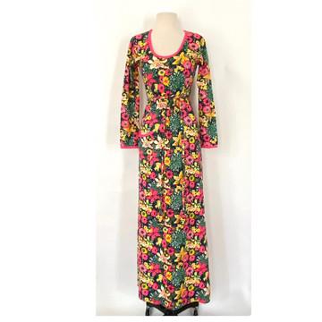 Vintage Lilly Pulitzer Long Sleeve Maxi Dress