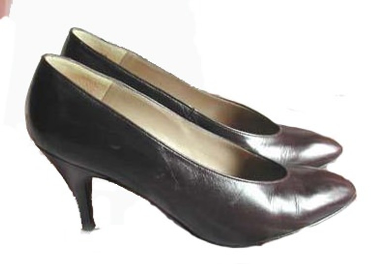Charles Jourdan Brown Pumps