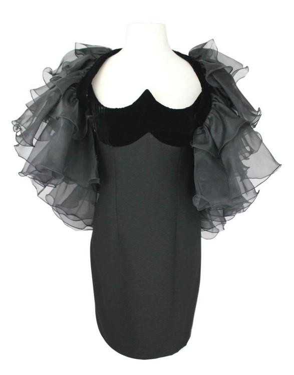 1980s Vintage Prom Dress