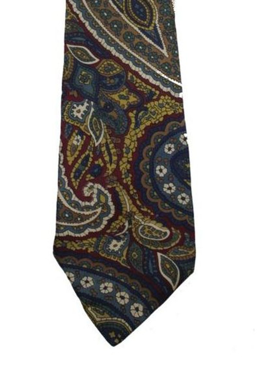 Christian Dior Paisley Tie