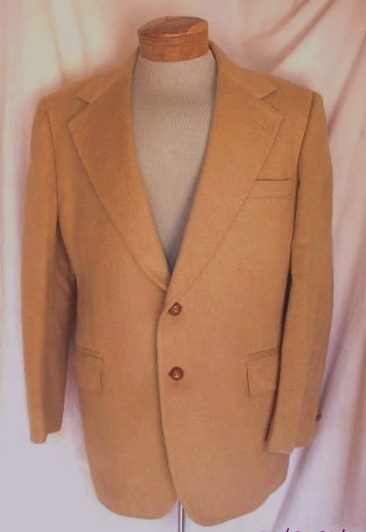 Daks Tan Cashmere Jacket