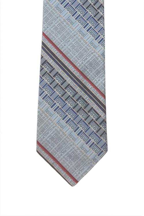 Mr. John Silver Blue Retro Tie