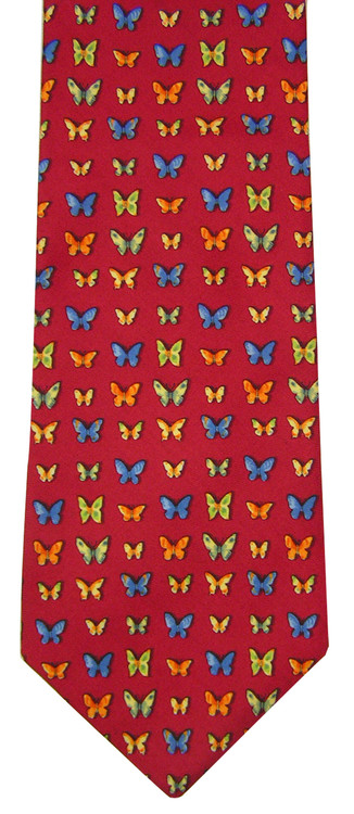 Brooks Brothers Red Butterfly Tie