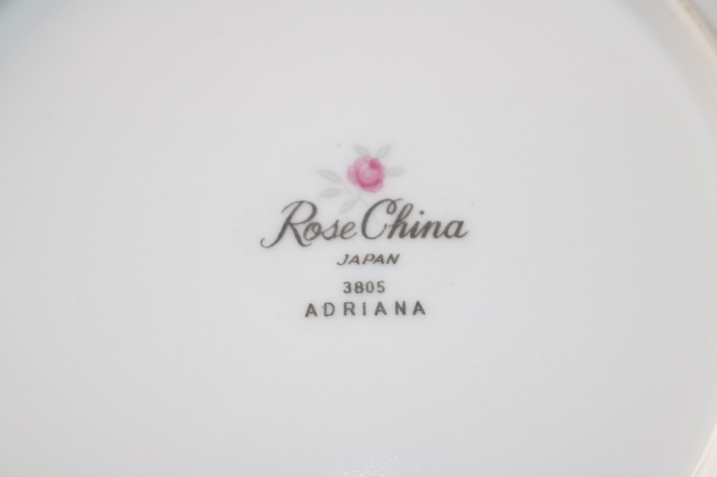 Rose China Adriana Backstamp