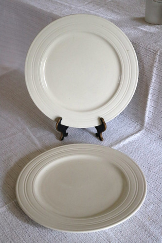Northcrest Home All White Dinner Plate