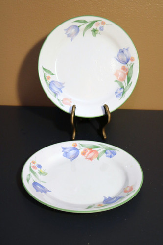 Corelle Corning Fresh Cut Tulips Bread & Butter Plate