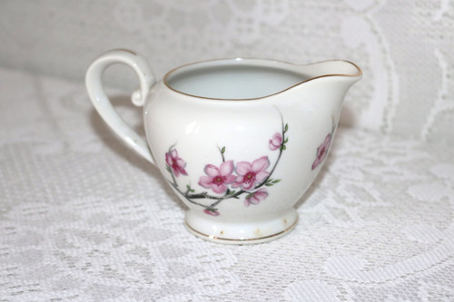 Diamond China Cherry Blossom Creamer