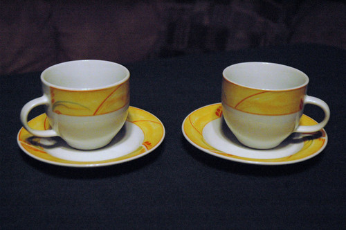 Lotus Collection Coffee Cup
