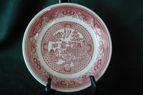 Royal China Willow Pink Bread & Butter Plate