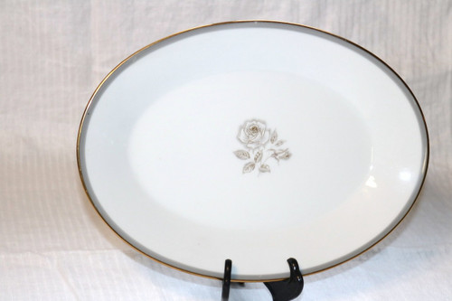 Noritake Blair Rose Oval Serving Platter