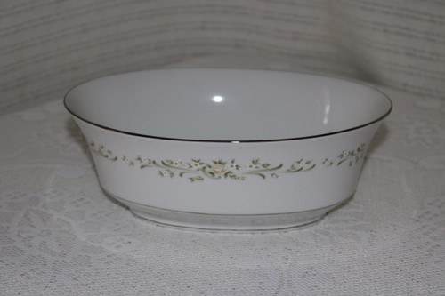 Sango China Debutante Oval Vegetable Serving Bowl